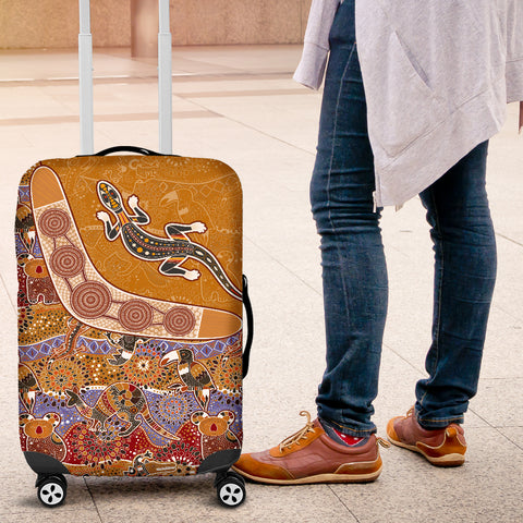 Australia Luggage Cover - Australia Pattern - BN14