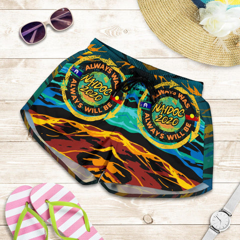 1stAustralia Women's Shorts - Naidoc Always Was, Always Will Be - BN17