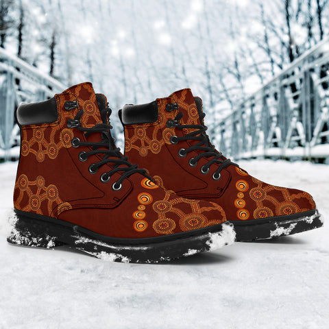 Aussie Flowers All-Season Boots