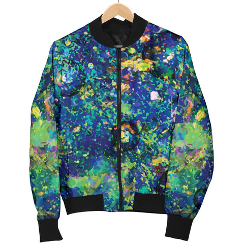 Australia Mens Bomber Jacket Opal Gemstone TH51