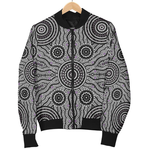 Australia Mens Bomber Jacket Aboriginal 04 TH1