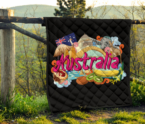 Australia Premium Quilt Architecture and Culture TH1