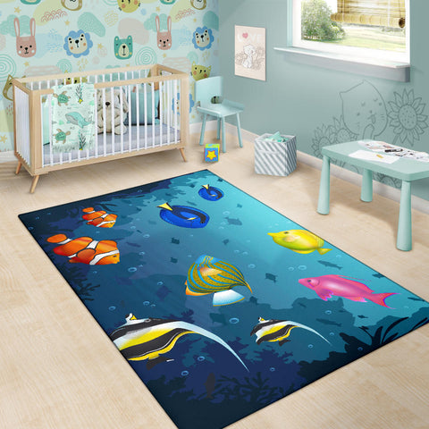 Australia Area Rug Fish TH1