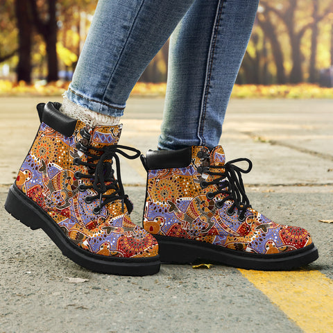 Australia All Season Boots - Australia Pattern - BN1501