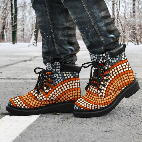 Australia All-season Boots - Aboriginal Pattern 05A