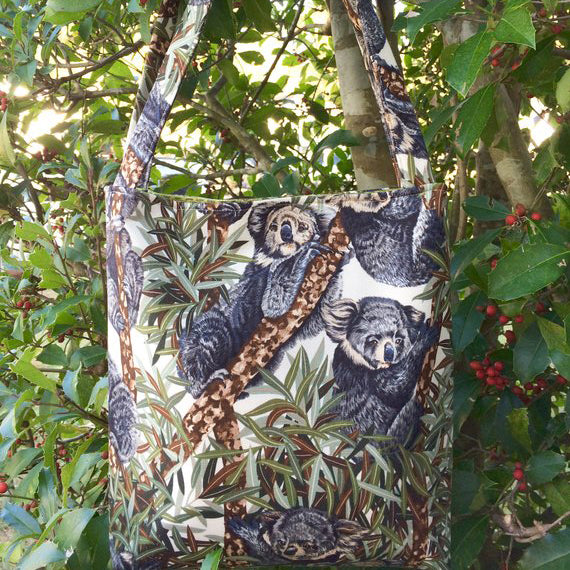 Koala Bears Fabric Bag R9