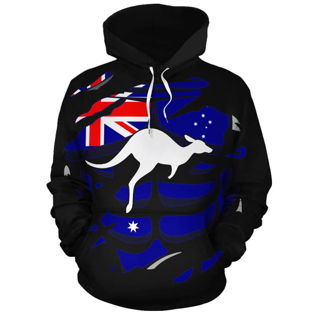 Australia In Me All-Over Hoodie