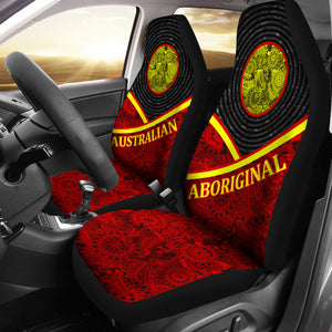 Australia Aboriginal Car Seat Covers Unisersal Fit 02