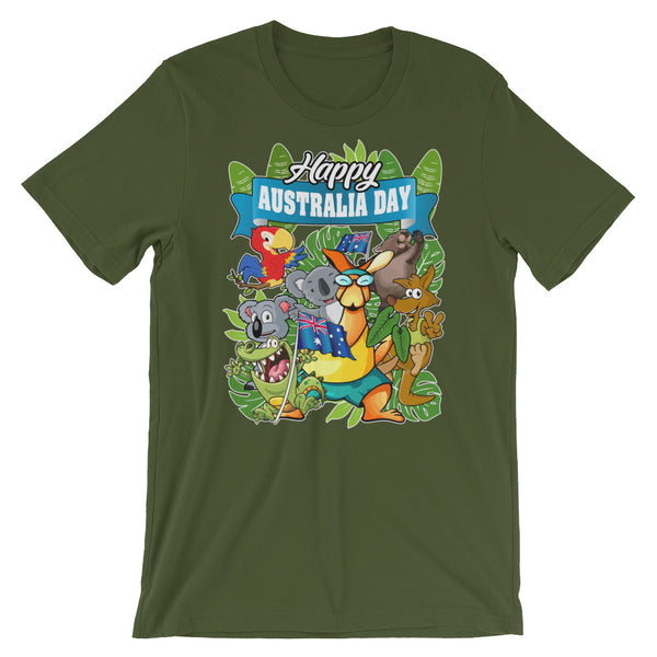 Happy Australia Day Unisex T-Shirt