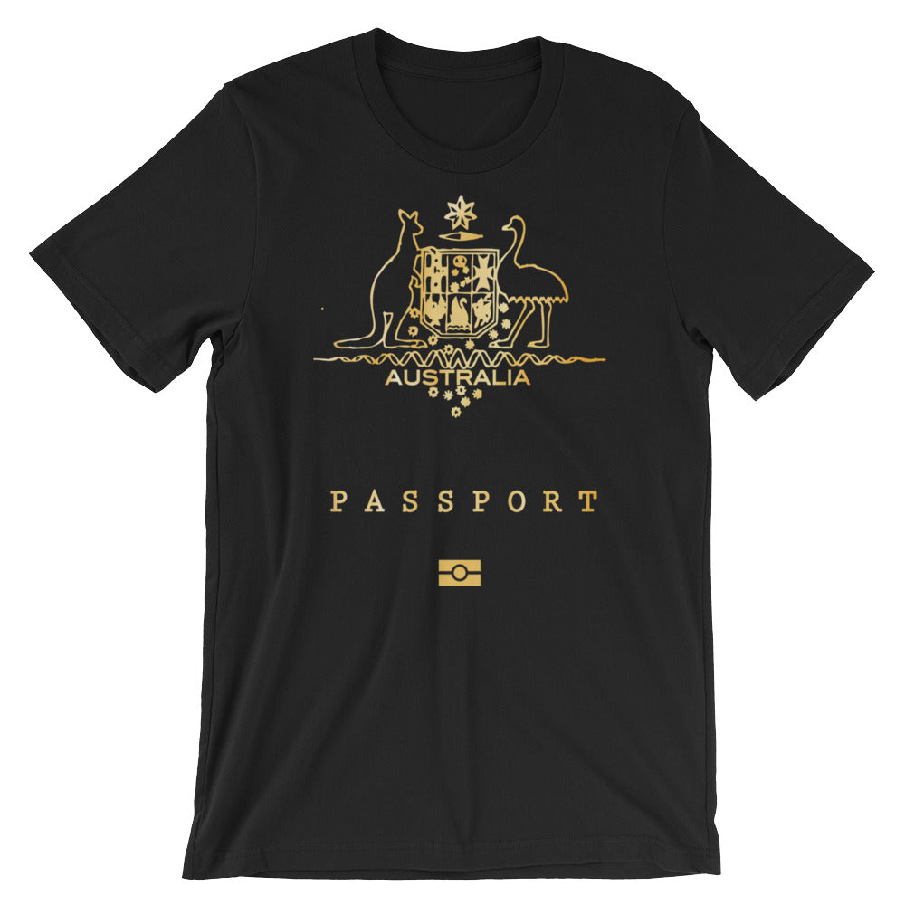 Australia Passport Unisex T-Shirt