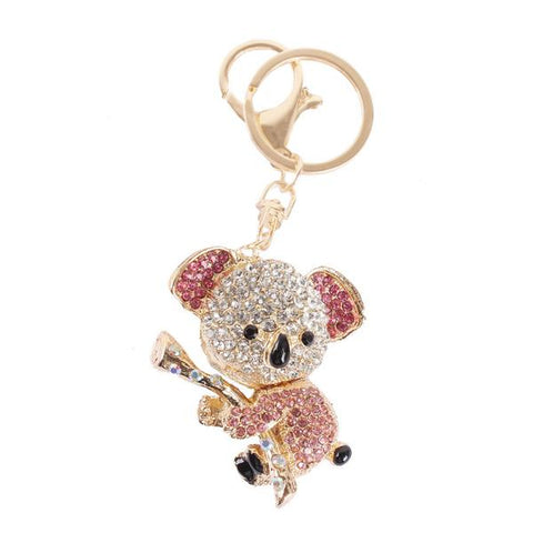 Koala Key Chain Bear Koala Tree