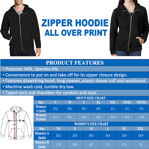 Australia Hoodie (Zip-Up) - Special Version - MRP