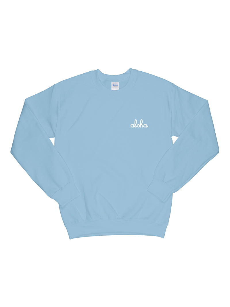 Little Aloha Crewneck Sweatshirt