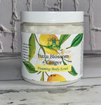 Yuzu Blossom and Ginger Foaming Body Scrub