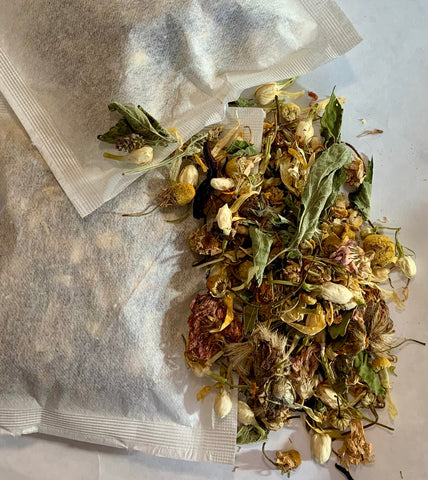 Relaxing Herbal Bath Tea