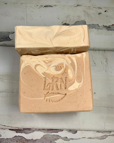 Patchouli  Geranium and Hemp Seed Coconut Milk Soap