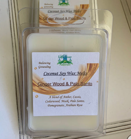 Ginger Wood & Palo Santo Wax Melts