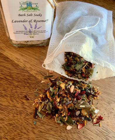 Soothing Herbal Bath Tea