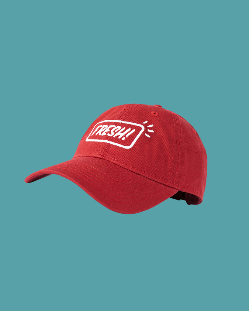 Fresh! Embroidered Hat