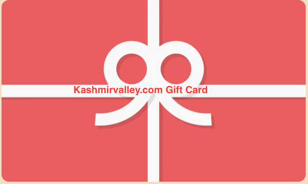 Kashmirvalley.com Gift Cards