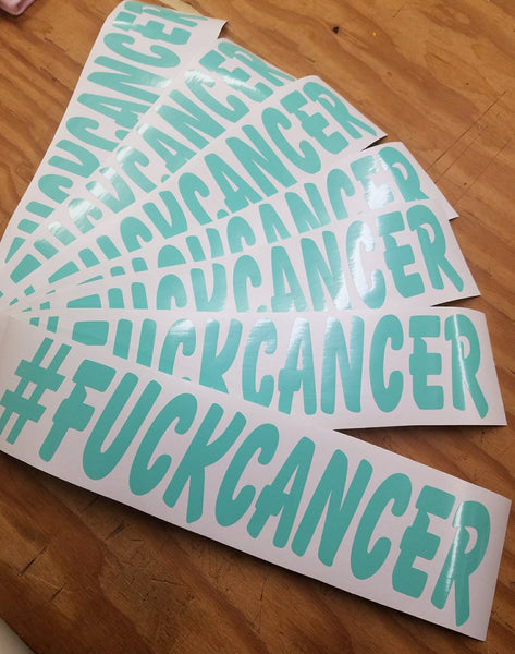 #fuckcancer - Decal