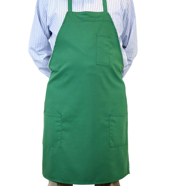 3-Pocket  Mono-color Apron