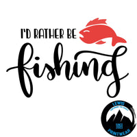 Rather be Fishing - Decal