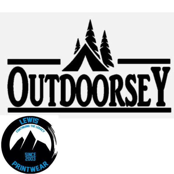 Outdoorsey - decal