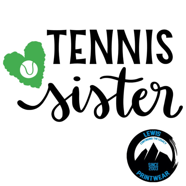 Tennis Sister - Decal