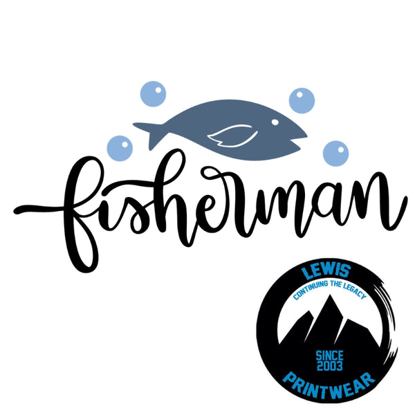 Fisherman - Decal