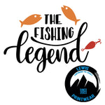 The Fishing Legend - Decal
