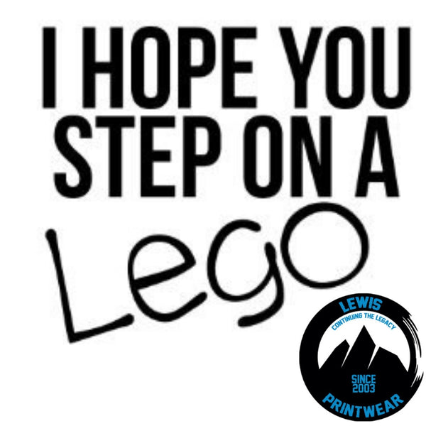 Step on a Lego - Decal