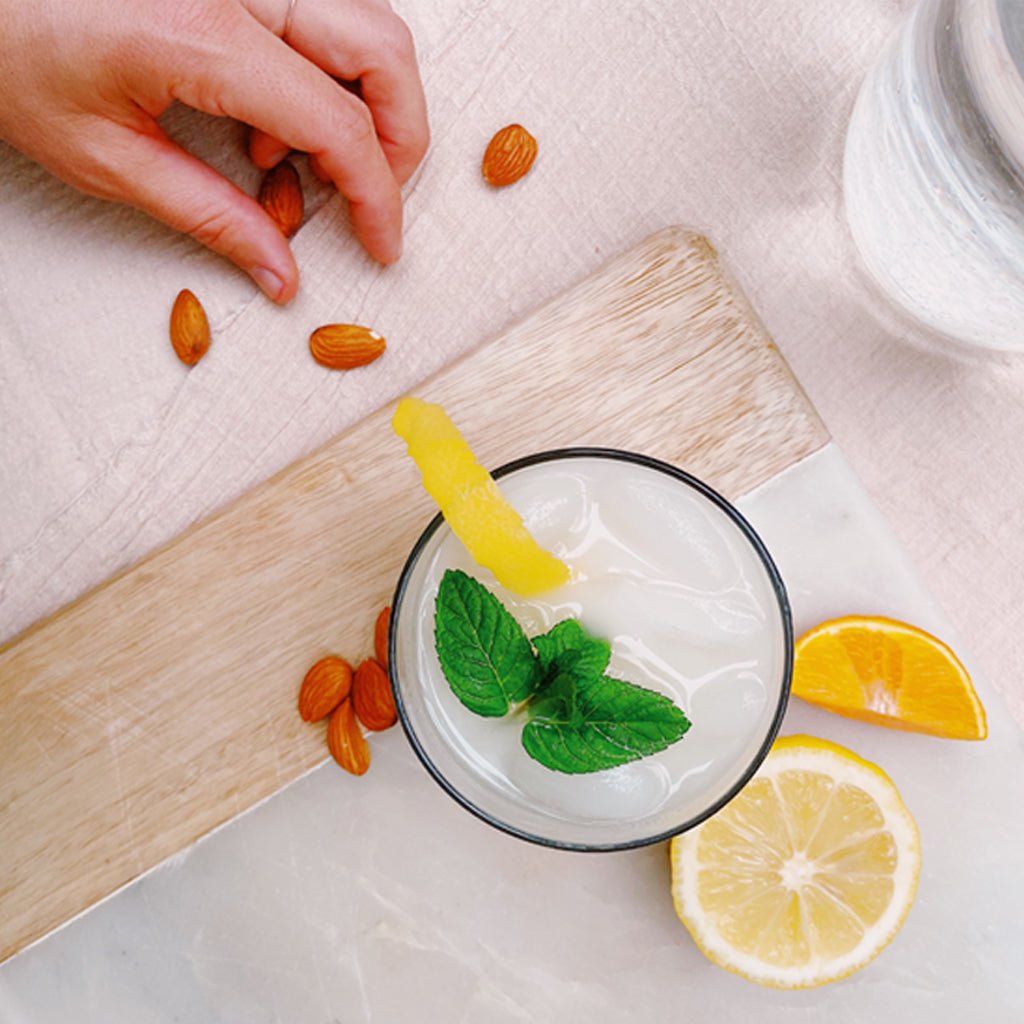Immunity-Boosting Almond Milk Citrus-Fizz (Family-Friendly Recipe)