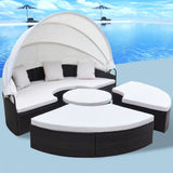 13 Pieces  Sunlounger Set (Brown)