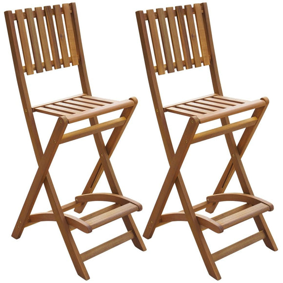2 Pcs Bar Chairs