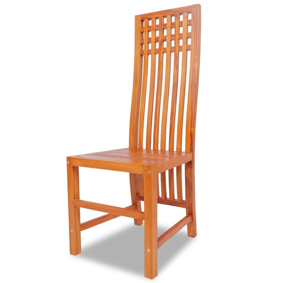 1 pcs Dining Chair Solid Teak