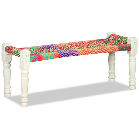 Classic Chindi Bench - Medium