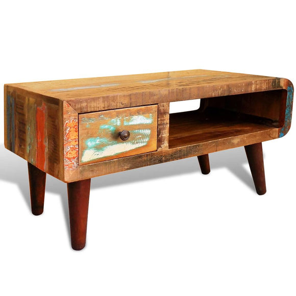 Curved Edge Antique style Coffee Table