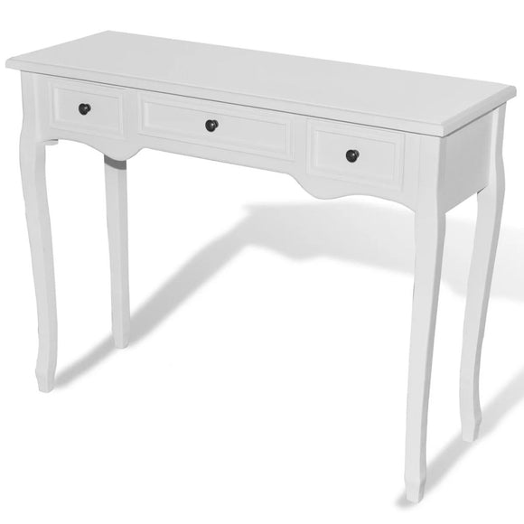 3 Drawer Dressing Console Table