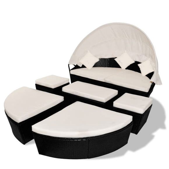 15 Piece Loungebed (Black)