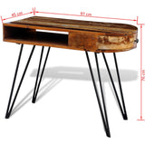 Office Desk with Pin Legs (Reclaimed Wood)