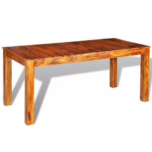 Solid Wood Dining Table (L)