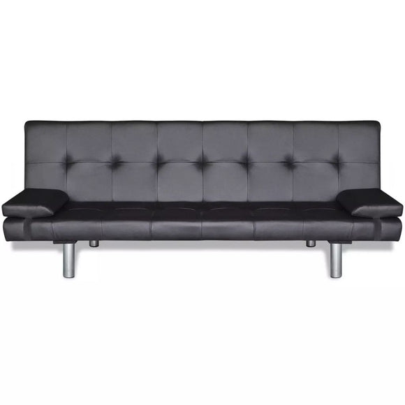 Sofa Bed Adjustable (Black)