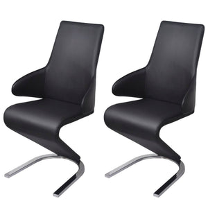 2 pcs Cantilever Dining Chairs