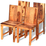 4 Pcs Dining Chair Sheesham Wood