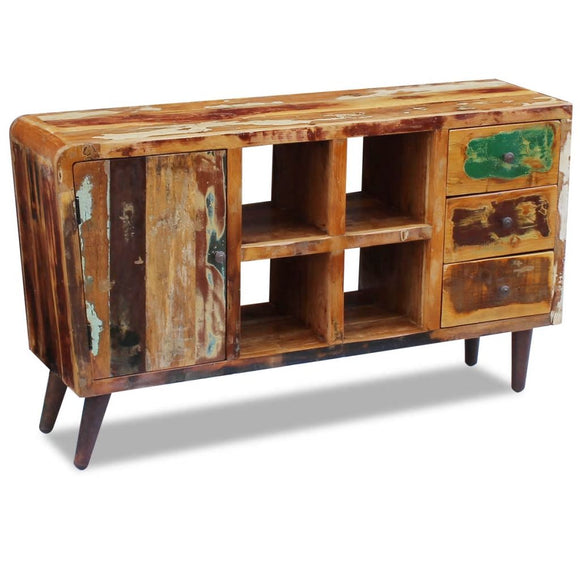 Sideboard 3 drawer 4 Compartment - Reclaimed Wood