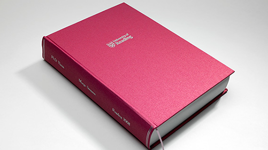 Hard Back Thesis Binding Deluxe - 72 Hour Production