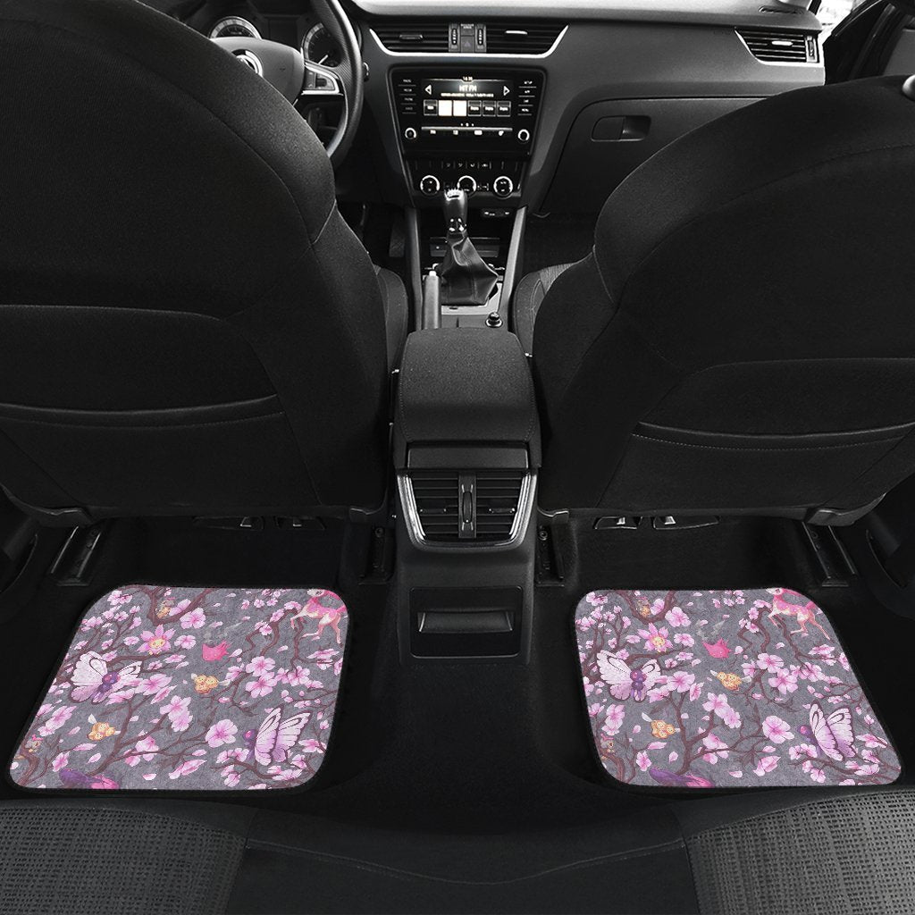Pokemon Spring Front And Back Car Mats