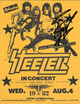 STEELER Vintage 1981 Signed Flyer