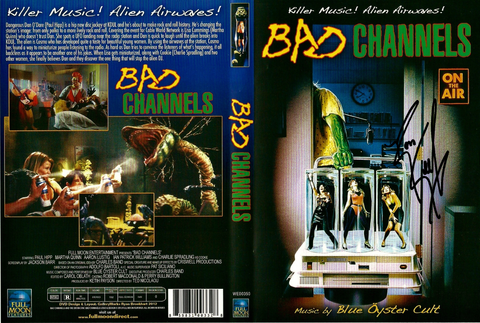 """BAD CHANNELS"" Signed DVD"